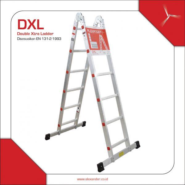 Tangga Aluminium DXL Kokoh dan Aman
